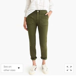 J. Crew Pants (Olive Green)